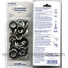 Extra Large Grommets - Silver
